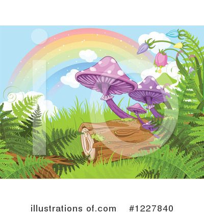 Royalty-Free (RF) Forest Clipart Illustration by Pushkin - Stock Sample #1227840