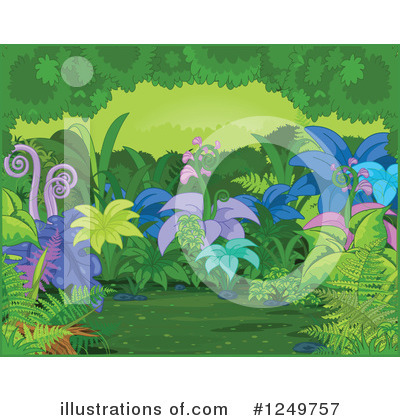 Ferns Clipart #1249757 by Pushkin