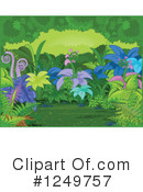 Royalty-Free (RF) Forest Clipart Illustration #1249757