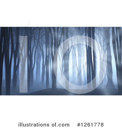 Woods Clipart #1261778 by KJ Pargeter
