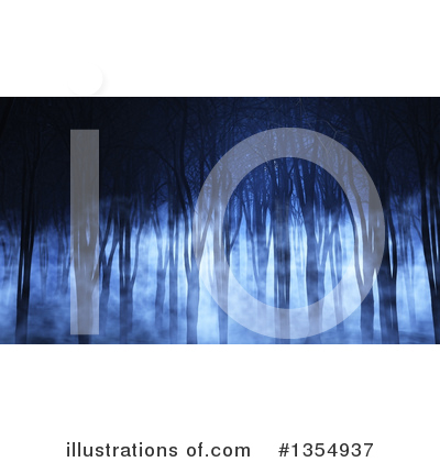 Trees Clipart #1354937 by KJ Pargeter