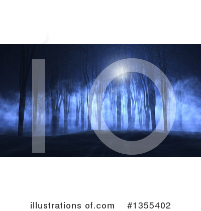 Forest Clipart #1355402 by KJ Pargeter