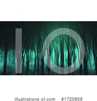 Royalty-Free (RF) Forest Clipart Illustration by KJ Pargeter - Stock Sample #1720959