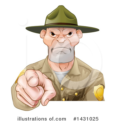 Police Officer Clipart #1431025 by AtStockIllustration