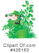 Royalty-Free (RF) forest ranger Clipart Illustration #435163