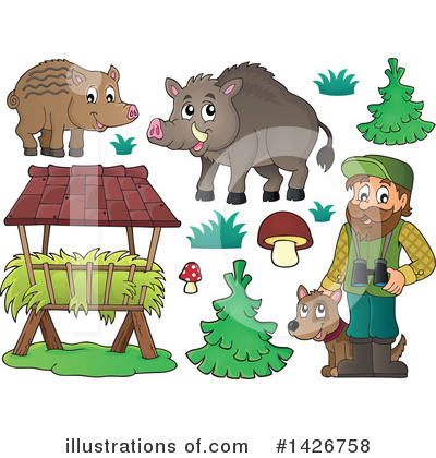 Forester Clipart #1426758 by visekart