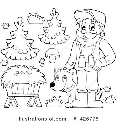 Forester Clipart #1426775 by visekart