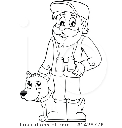 Forester Clipart #1426776 by visekart