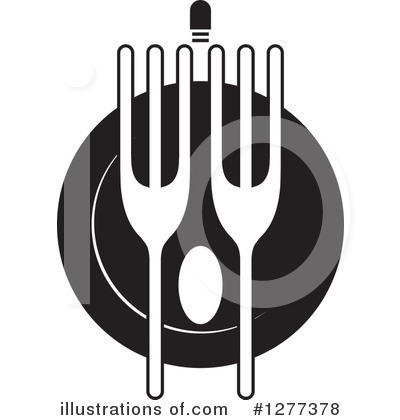 Dining Clipart #1277378 by Lal Perera