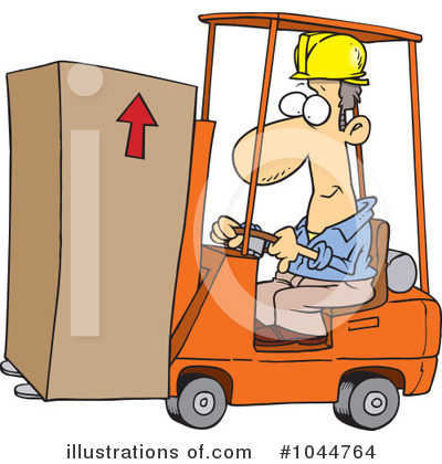Warehouse Clipart #1044764 by toonaday