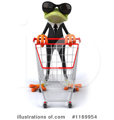 Royalty-Free (RF) Formal Frog Clipart Illustration by Julos - Stock Sample #1169954