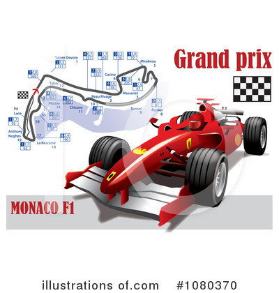 Race Track Clipart #1080370 by Eugene