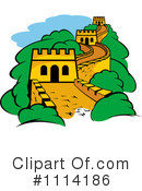 Royalty-Free (RF) Fortress Clipart Illustration #1114186