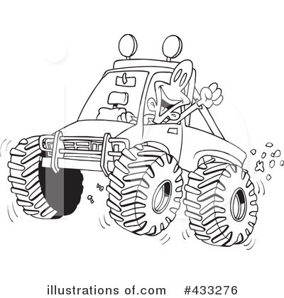Monster Truck Clipart #433276 by toonaday