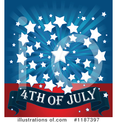 Fourth Of July Clipart #1187397 by Pushkin
