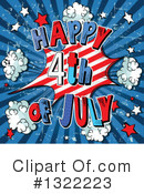 Royalty-Free (RF) Fourth Of July Clipart Illustration #1322223