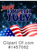 Fourth Of July Clipart #1457062 by AtStockIllustration