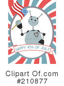 Fourth Of July Clipart #210877 by mheld