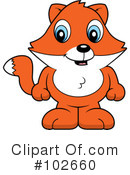 Royalty-Free (RF) Fox Clipart Illustration #102660