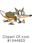 Royalty-Free (RF) Fox Clipart Illustration #1044823