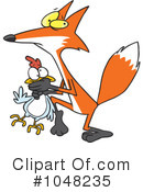 Royalty-Free (RF) Fox Clipart Illustration #1048235