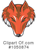 Royalty-Free (RF) Fox Clipart Illustration #1050874