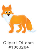 Royalty-Free (RF) Fox Clipart Illustration #1063284