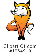 Royalty-Free (RF) Fox Clipart Illustration #1064910