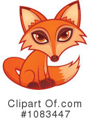 Royalty-Free (RF) Fox Clipart Illustration #1083447