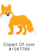 Royalty-Free (RF) Fox Clipart Illustration #1087789