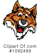 Royalty-Free (RF) Fox Clipart Illustration #1092499