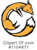 Fox Clipart #1104871 by xunantunich
