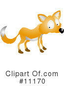 Royalty-Free (RF) Fox Clipart Illustration #11170