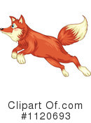 Royalty-Free (RF) Fox Clipart Illustration #1120693