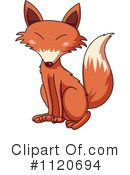 Royalty-Free (RF) Fox Clipart Illustration #1120694