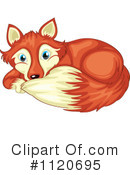 Royalty-Free (RF) Fox Clipart Illustration #1120695
