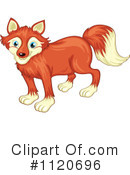 Royalty-Free (RF) Fox Clipart Illustration #1120696