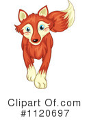 Royalty-Free (RF) Fox Clipart Illustration #1120697