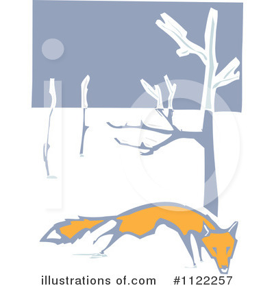 Fox Clipart #1122257 by xunantunich