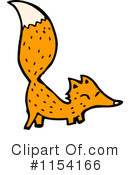 Royalty-Free (RF) Fox Clipart Illustration #1154166