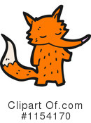 Royalty-Free (RF) Fox Clipart Illustration #1154170