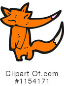 Royalty-Free (RF) Fox Clipart Illustration #1154171