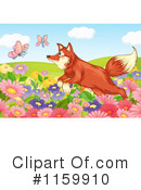 Royalty-Free (RF) Fox Clipart Illustration #1159910