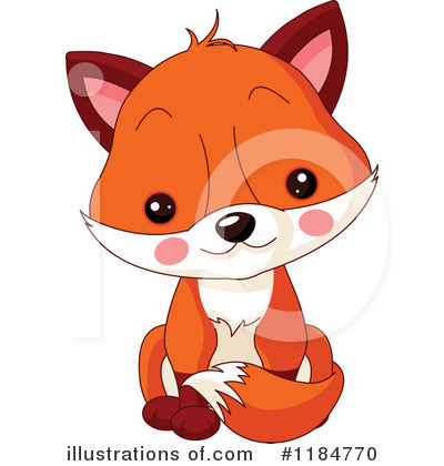 Fox Clipart #1184770 by Pushkin