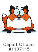 Fox Clipart #1197115 by Cory Thoman