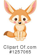 Fox Clipart #1257065 by Pushkin