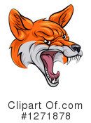 Fox Clipart #1271878 by AtStockIllustration