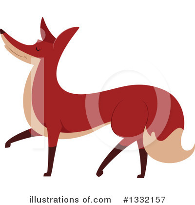 Fox Clipart #1332157 by BNP Design Studio