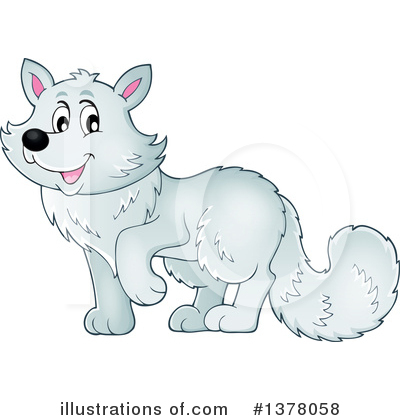 Fox Clipart #1378058 by visekart