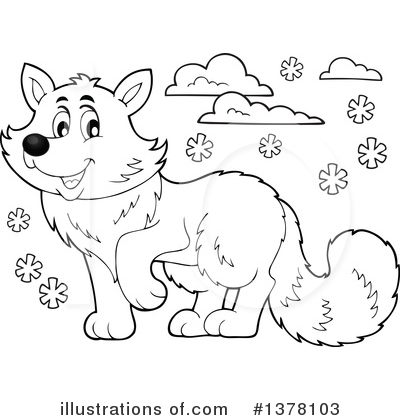Fox Clipart #1378103 by visekart